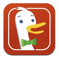 duckduckgo app with link to website to install tools