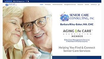 Senior Care Consulting logo and ALCA and NACCM associations