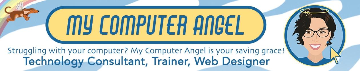 my computer angel banner